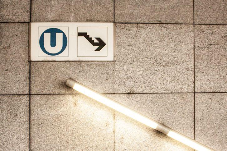U-Bahn Abgang (c) STADTBEKANNT