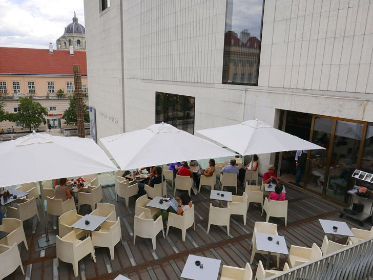 Cafe Leopold Terrasse (c) STADTBEKANNT Wetter-Nohl