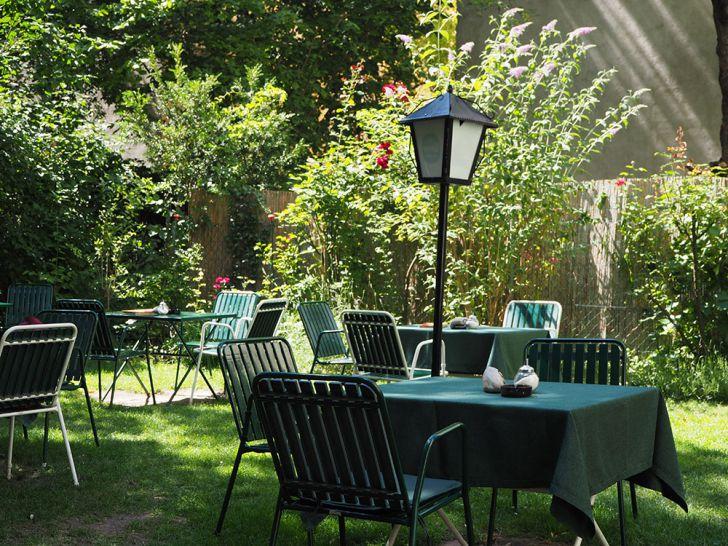 Gartencáfe Garten (c) STADTBEKANNT Pitzer