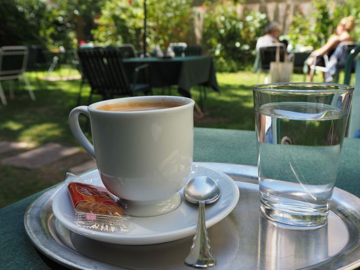 Gartencáfe Kaffee (c) STADTBEKANNT Pitzer