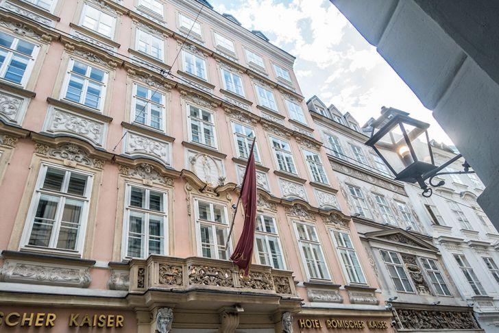 Hotel Römischer Kaiser Annagasse 16 (c) STADTBEKANNT