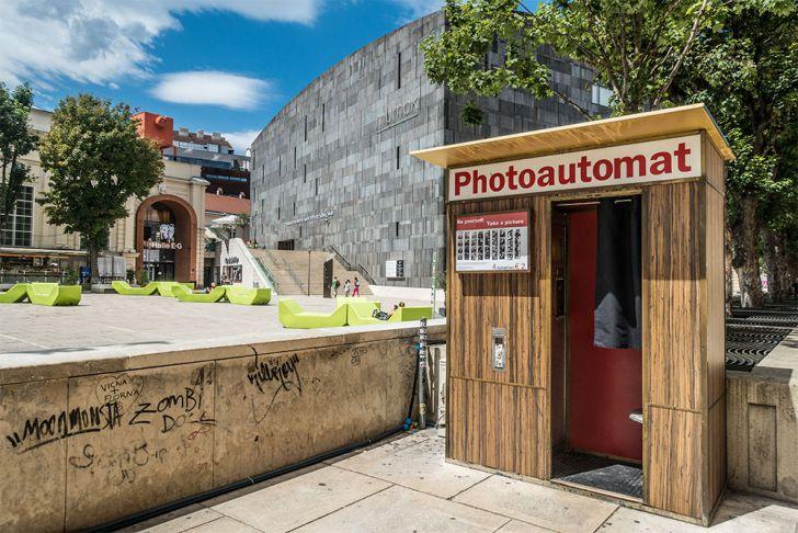 MuseumsQuartier Photoautomat (c) STADTBEKANNT
