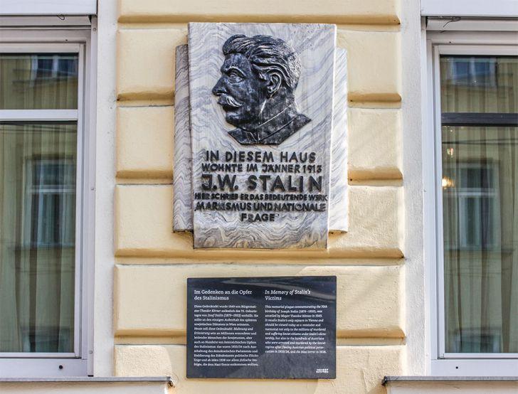 Schönbrunner Schloßstraße 30 Stalin (c) STADTBEKANNT