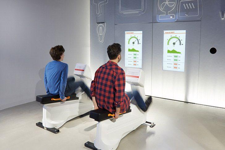 Wien Energie-Erlebniswelt - Tour de Watt
