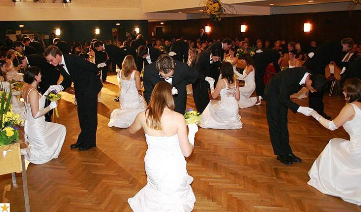 Tanzschule Mühlsiegl ÖVP Ball Polonaise