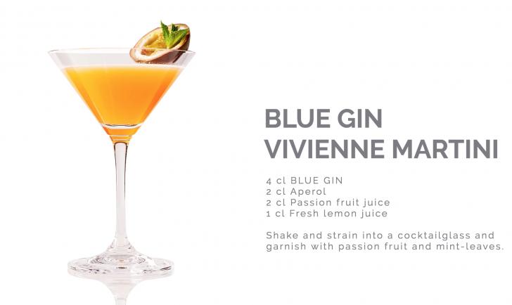 Blue Gin Vivienne Martini (c) Reisetbauer