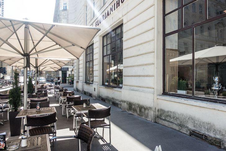 Café Florianihof Schanigarten (c) STADTBEKANNT