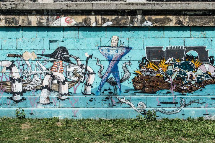 Donaukanal Streetart (c) STADTBEKANNT