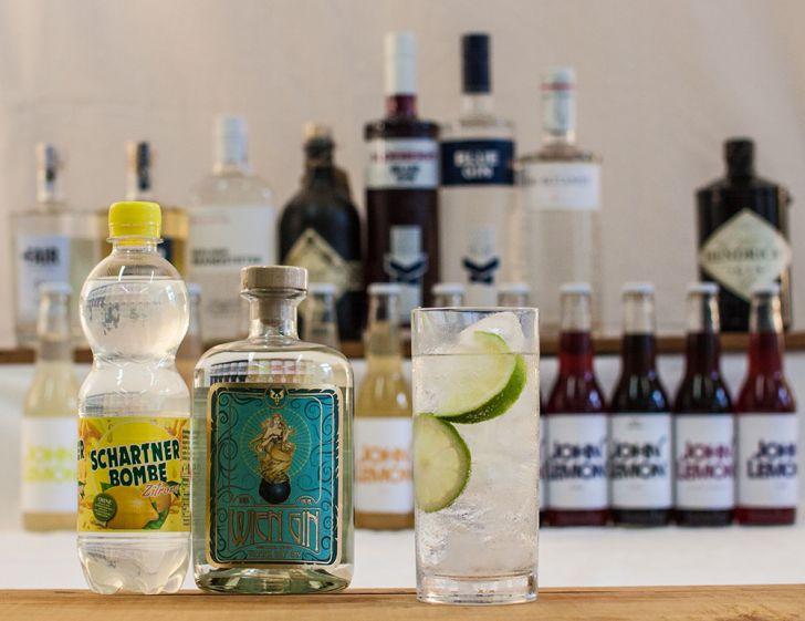 Gin Cocktails Schartner Bombe Wien Gin (c) STADTBEKANNT