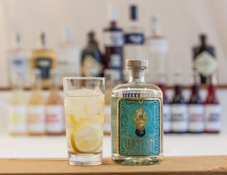 Gin Tonic Wien Gin (c) STADTBEKANNT