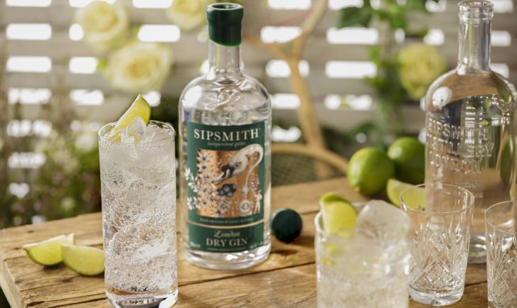 Sipsmith London Dry Gin - Gin Tonic