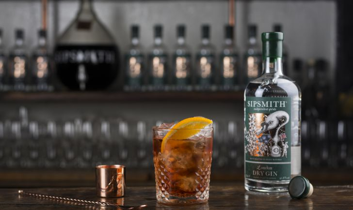 Sipsmith London Dry Gin - Negroni