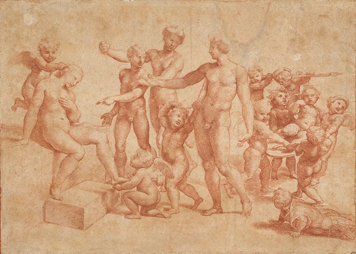 Die Hochzeit von Alexander und Roxane - um 1517 (c) Albertina - Wien