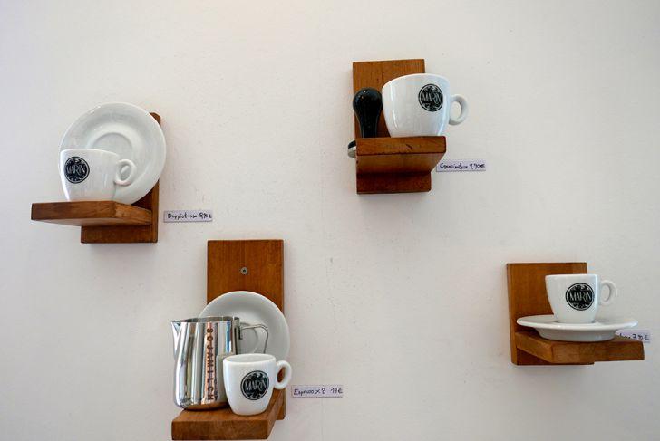 Marin Espressobar Wanddekoration (c) STADTBEKANNT Wetter-Nohl