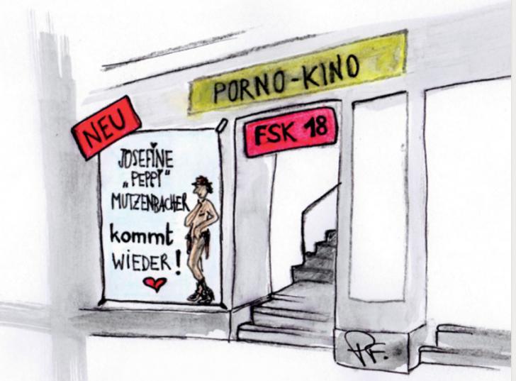 Schnackseln wie ein echter Wiener - Pornokino (c) STADTBEKANNT Patricia Fontanesi