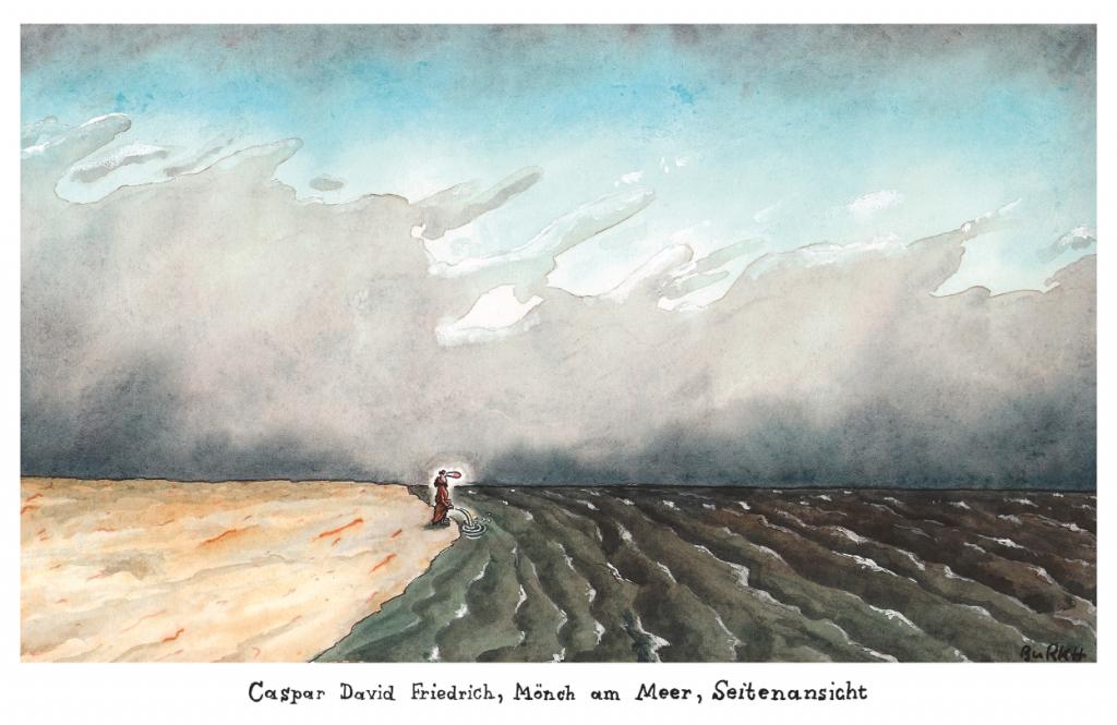 Mönch am Meer (c) BURKH