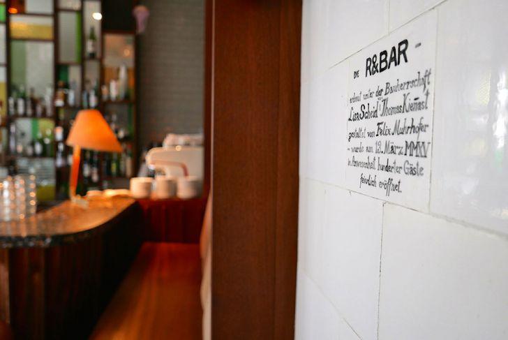 Die R&Bar Spruch (c) STADTBEKANNT Wetter-Nohl