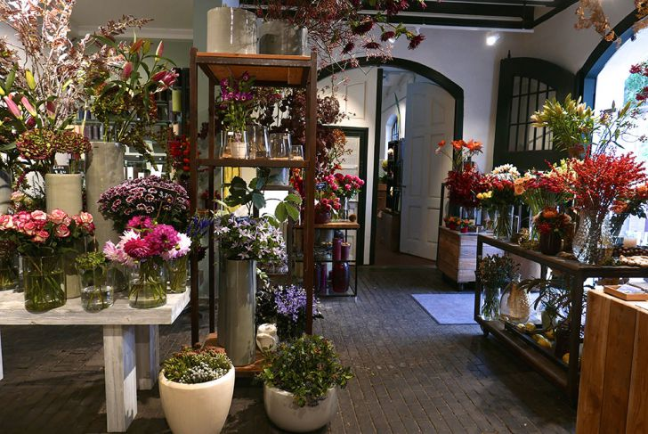 Donati Blumengeschäft Eingang (c) STADTBEKANNT Wetter-Nohl