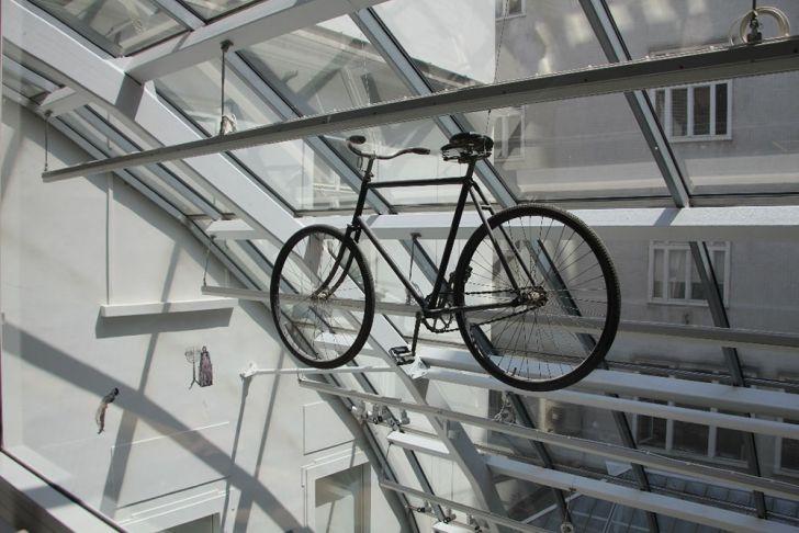Herzl Fahrrad (c) Rachel Engelberg