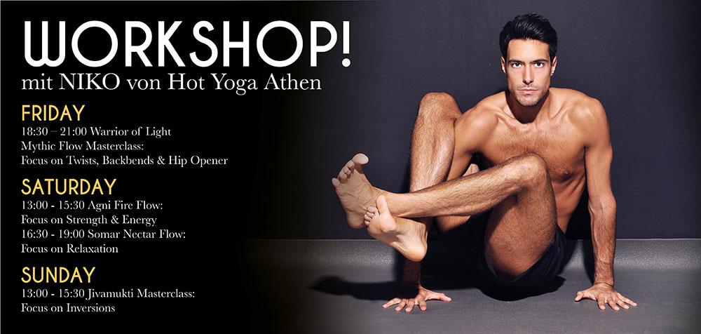 Hot Yoga Workshop (c) Hot Yog Vienna