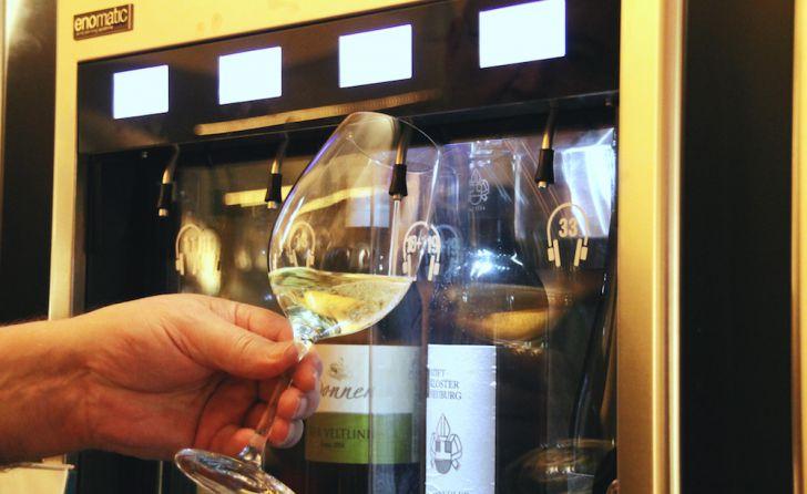 Villon Enomatic Wine Tasting (c) STADTBEKANNT