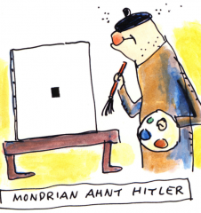Kunst in Cartoons (c) Ari Plikat