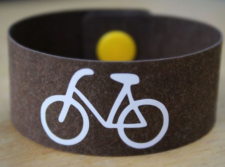 Armband Fahrrad (c) made by Halmer