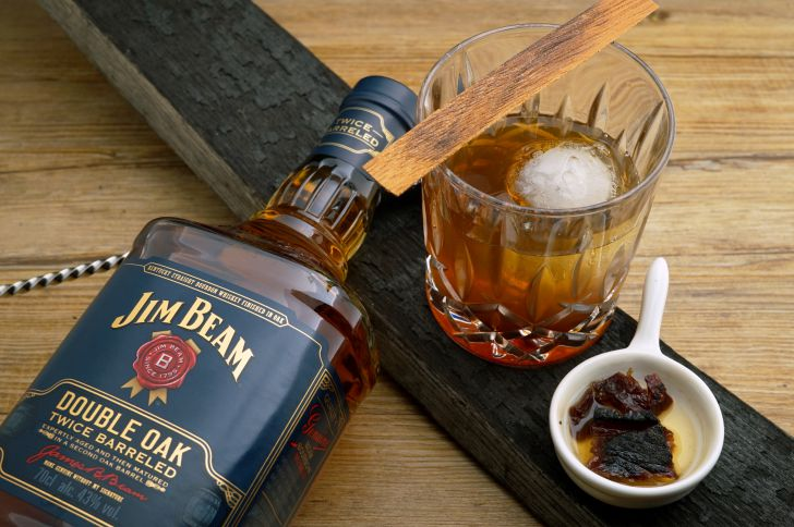 Jim Beam Double Oak Fashioned Cocktail (c) Beam Suntory