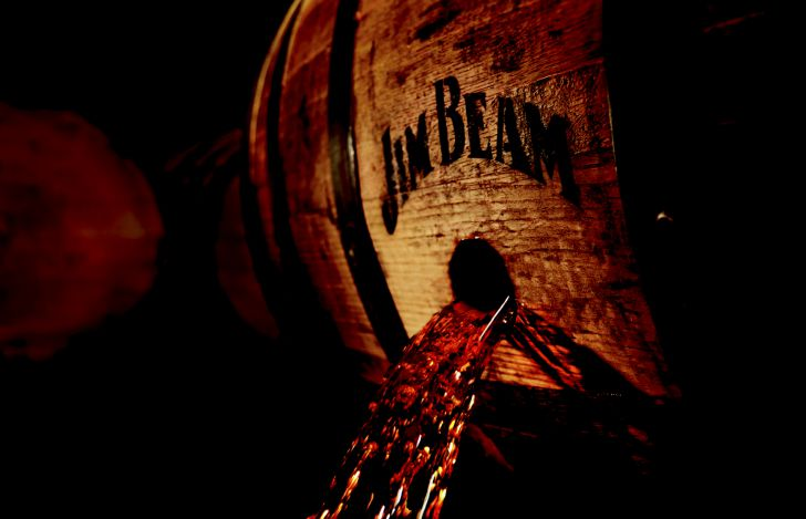 Jim Beam Eichenfass (c) Beam Suntory