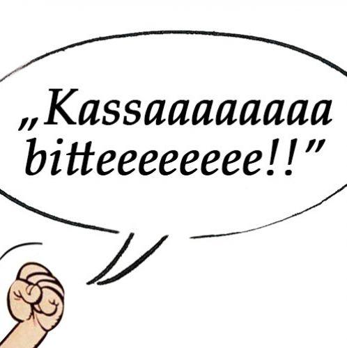 Kassa bitte – Wienerisch (c) STADTBEKANNT
