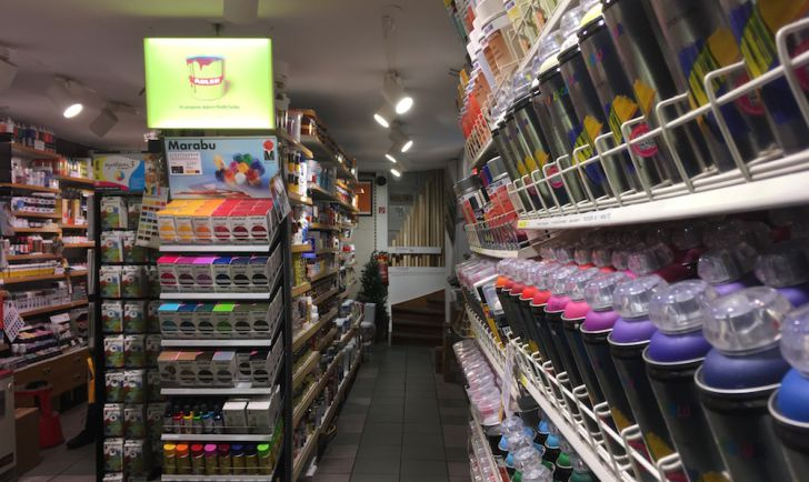 100% Farbe Shop (c) STADTBEKANNT