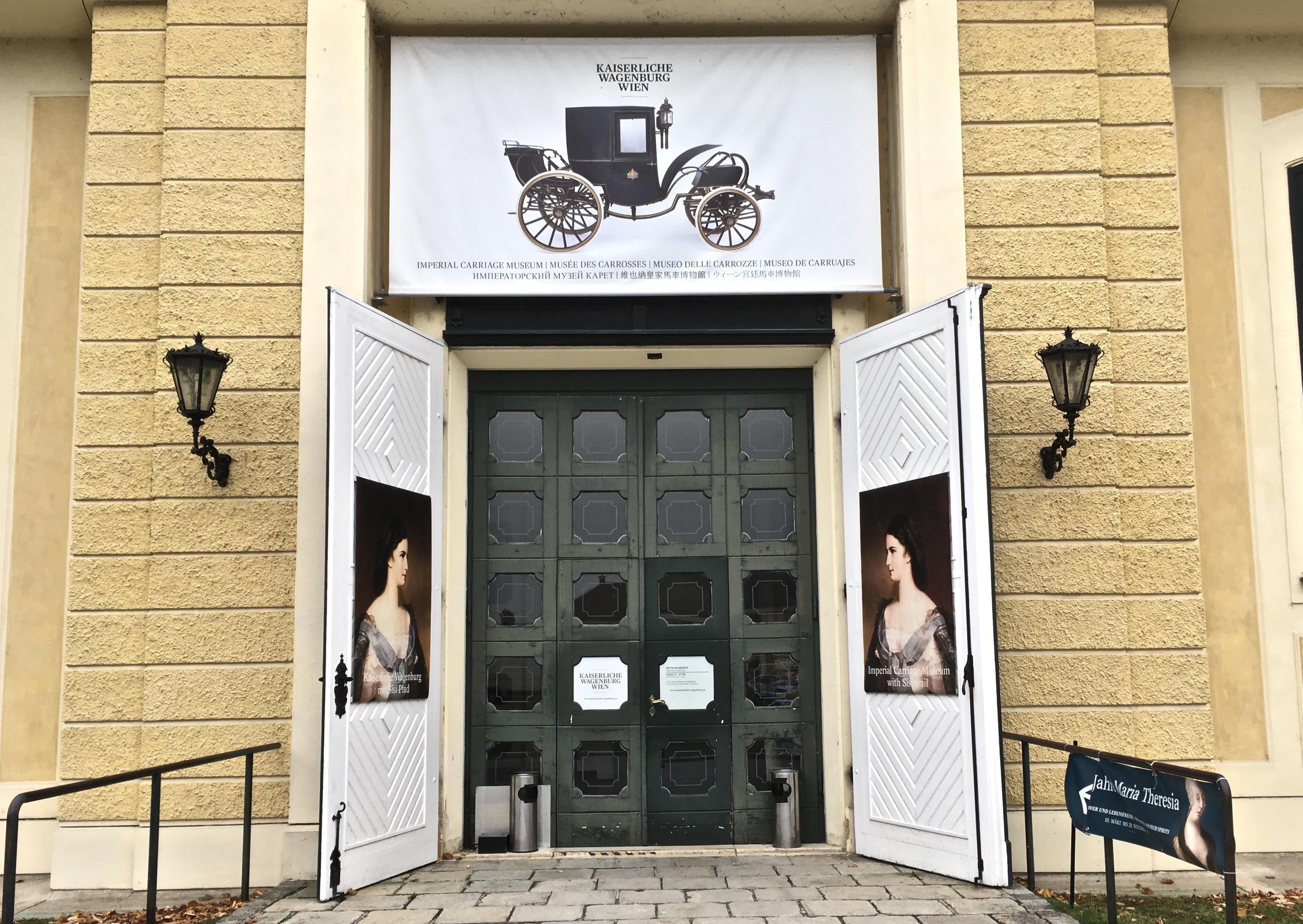 Kaiserliche Wagenburg Eingang (c) STADTBEKANNT