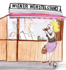 Schnackseln wie ein echter Wiener - Wiener Würstelstand (c) STADTBEKANNT Patricia Fontanesi
