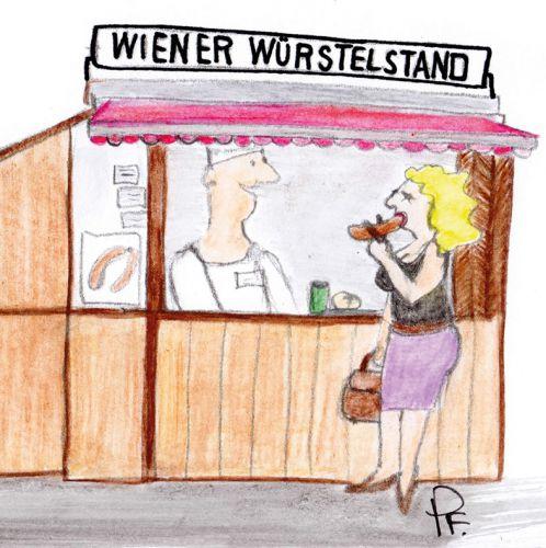 Schnackseln wie ein echter Wiener – Wiener Würstelstand (c) STADTBEKANNT Patricia Fontanesi