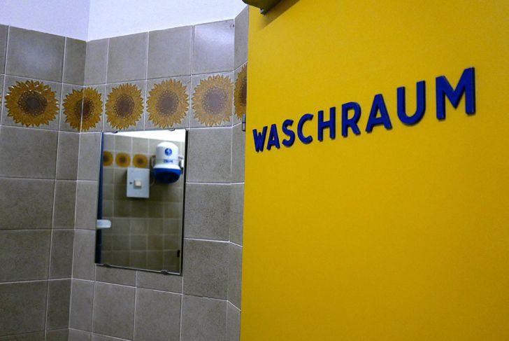 Tröpferlbad Waschraum (c) STADTBEKANNT Wetter-Nohl