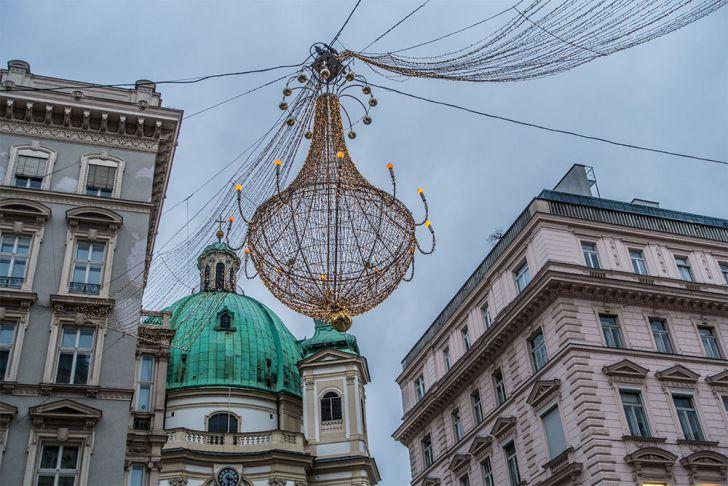 Weihnachtsbeleuchtung Wien (c) STADTBEKANNT
