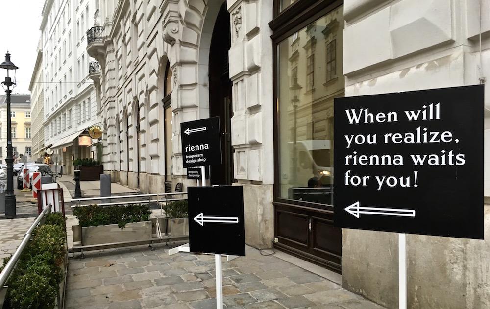 rienna designshop Eingang (c) STADTBEKANNT