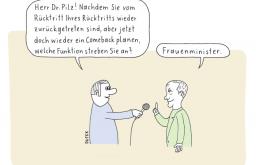 Frauenminister (c) Dufek