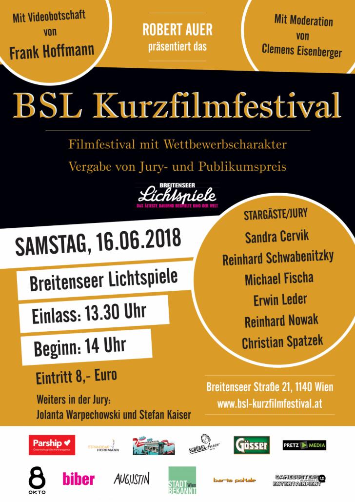 BSL Kurzfilmfestival Plakat