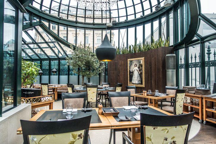 Clementine im Glashaus Restaurant (c) STADTBEKANNT