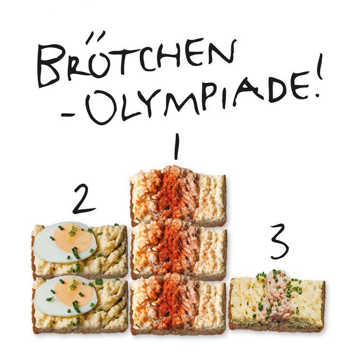 Trzesniewski Brötchen Olympiade