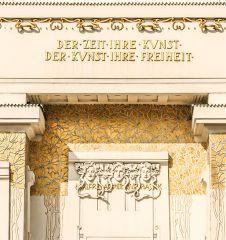 Wiener Secession - Spruch (c) STADTBEKANNT