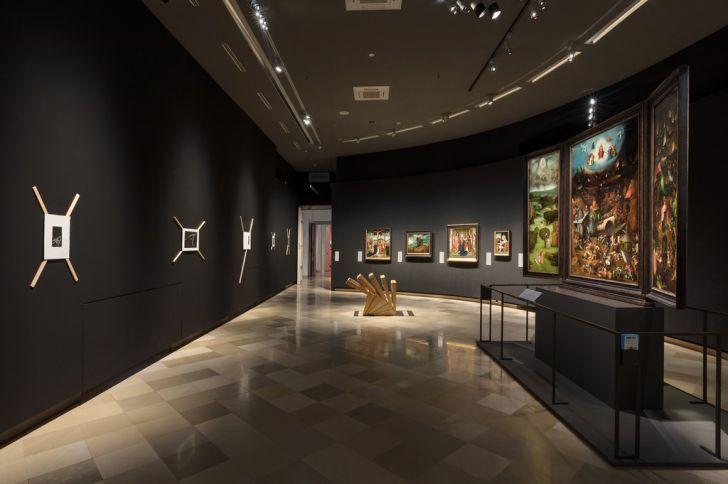 Gemäldegalerie der Akademie der bildenden Künste Wien Ausstellung Korrespondenzen Bosch - Hofbauer (c) Lisa Rastl