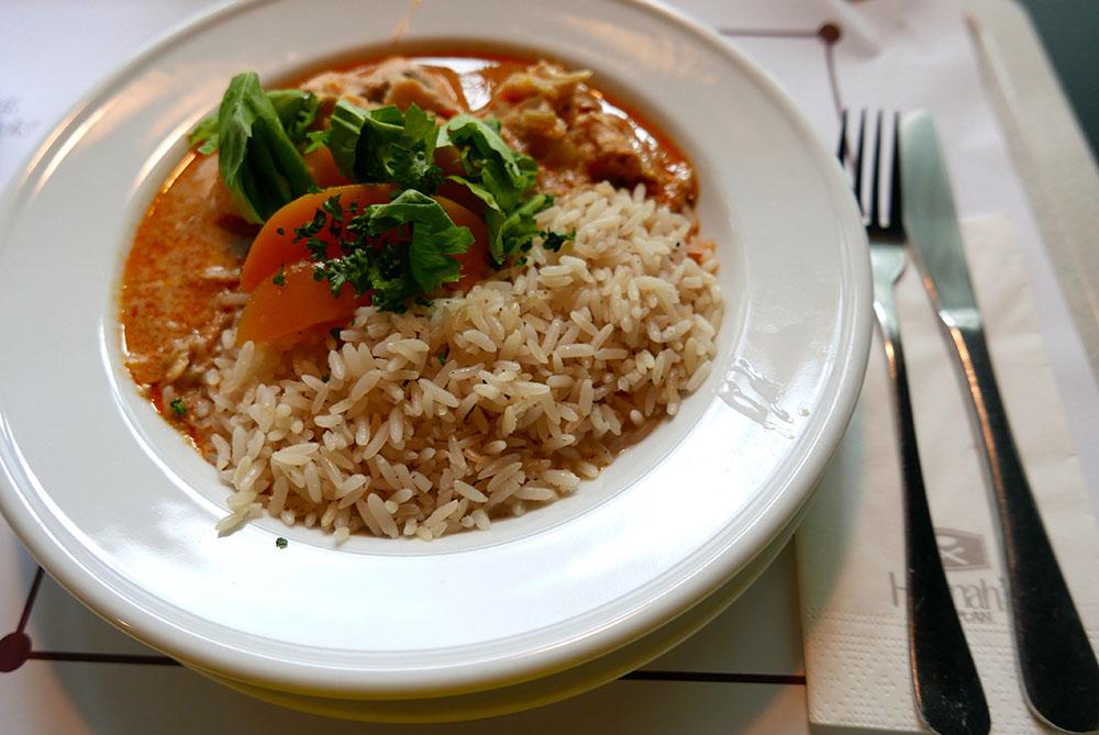 Hannahs Speisesaal Reisgericht (c) STADTBEKANNT Wetter-Nohl