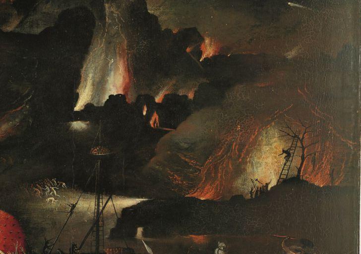 Hieronymus Bosch Weltgerichtstriptychon (c) Gemäldegalerie der Akademie der bildenden Künste Wien