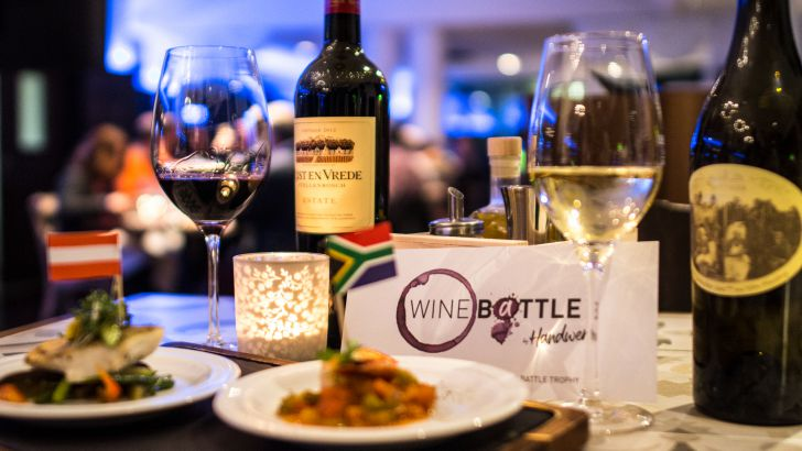 Wine Battle (c) Handwerk Restaurant / Arcotel