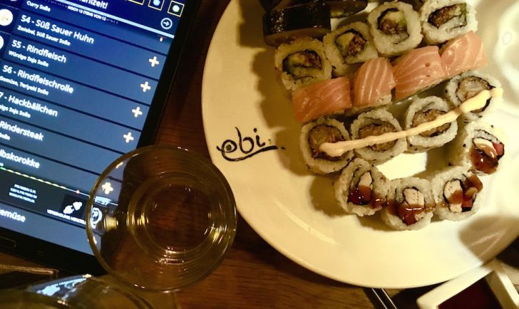ebi Mariahilfer Straße Sushi Maki Tablet (c) STADTBEKANNT