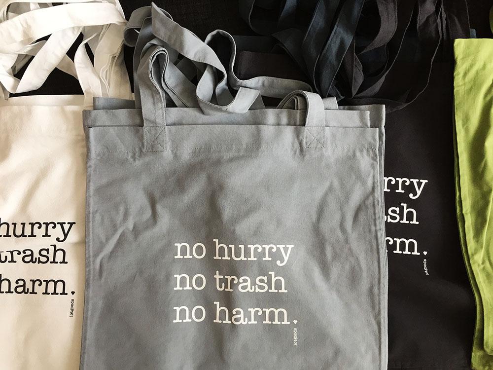 lotgoods no hurry no trash no harm (c) STADTBEKANNT Kerschbaumer
