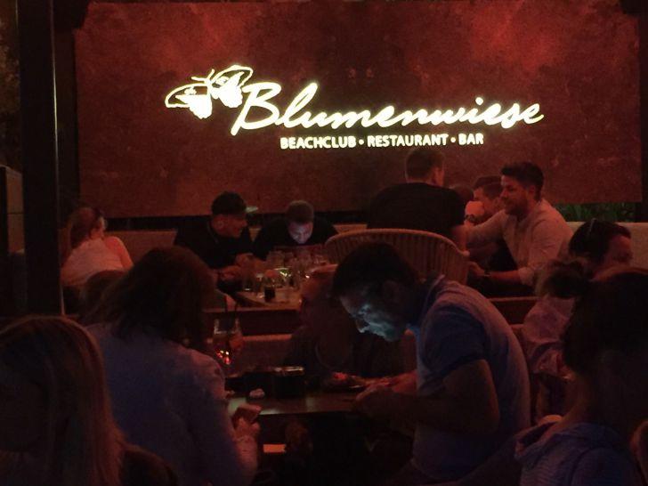 Blumenwiese - Beachclub, Restaurant, Bar (c) STADTBEKANNT