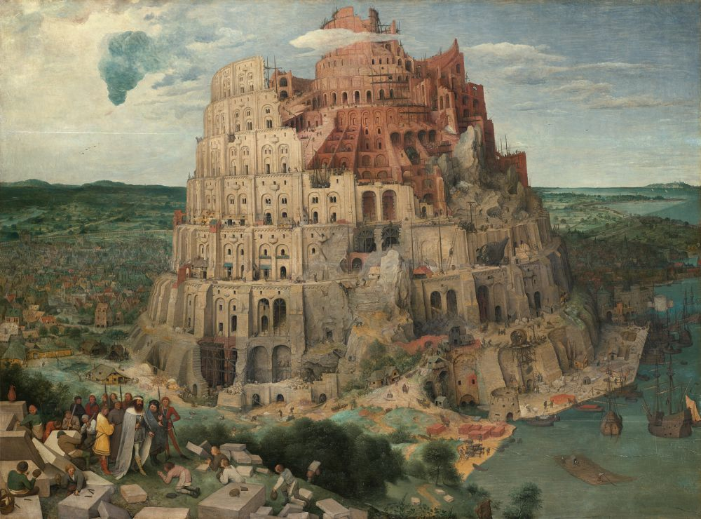 Brueghel Turmbau zu Babel (c) KHM-Museumsverband